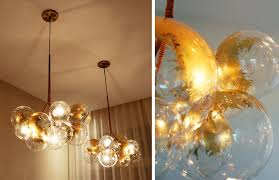 beautiful diy chandelier with bubble chandelier diy