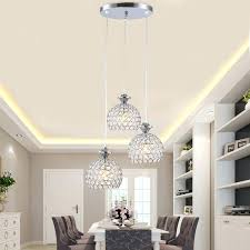 restaurant kitchen lighting. Modern Kitchen Light Fixtures Crystal Pendant Restaurant Dining Room Hanging Lamp Chrome Iron For Island Lighting R