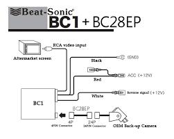 toyota tundra backup camera wiring diagram toyota beat sonic bc1 bc28ep back up camera oem interface adapter on toyota tundra backup camera wiring