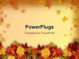 Autumn Themed Powerpoint Template Fall Themed Powerpoint Templates