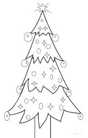 Tree Templates Free Download Trees Printable Coloring Template Large