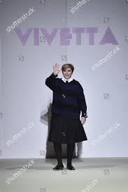 Vivetta Designer Italian Designer Vivetta Ponti Appears On Catwalk Editorial