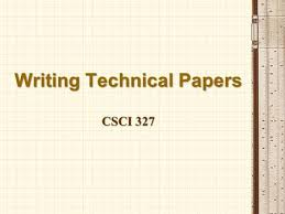 Writing A Technical Report Ppt Video Online Download