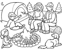Small Picture Family camping coloring pages ColoringStar