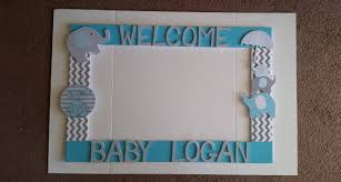 birthday baby shower wedding boy blue grey any colors photo frame ideas picture frames prop uk