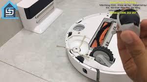 Nhà Thông Minh - SmartTechs Đà Nẵng - Hướng dẫn vệ sinh, tra dầu bảo dưỡng  bánh xe Robot hút bụi Xiaomi