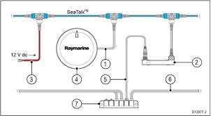 yamaha engine connection raymarine eci 100 diagram 1 raymarine