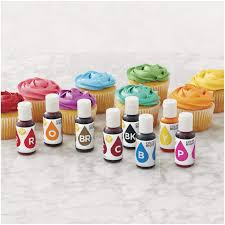 Color Right Wilton Chart Wilton Color Right Performance Food Coloring Set Achieve
