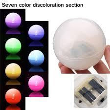 Zonne Energie Drijvende Onderwater Led Kleur Veranderende Licht
