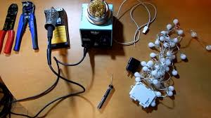 diy cable lighting. DIY How To Convert Battery Powered Lights AC Powered! Diy Cable Lighting