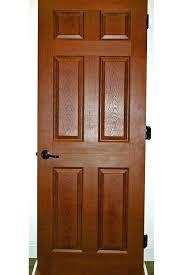 hardwood interior doors internal oak with glass panels bq