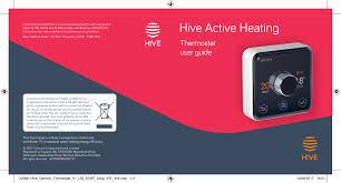 Hive Wake Up Light Hive Active Heating Manualzz Com