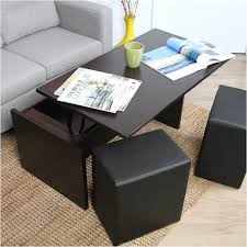 coffee table with seating fresh square coffee table with ottoman seating coffee tables decoration
