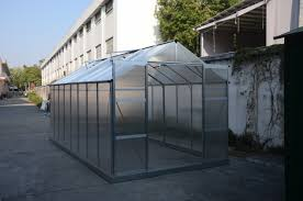 new 8 x 10 ft 8 x 16 ft polycarbonate green house greenhouse gh810