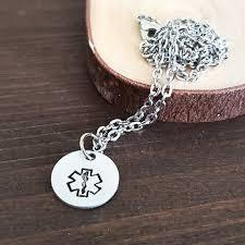 ems necklace star of life necklace emt