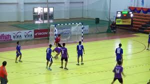 การแข่งขันแฮนด์บอลชาย กรุงเทพมหานคร - เชียงราย - YouTube