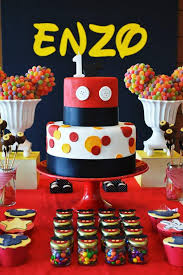Karas Party Ideas Mickey Mouse First Birthday Party Planning Ideas