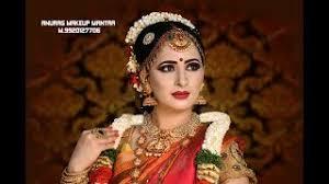 best south indian bridal makeup tutorial 2018 hd anurag makeup mantra