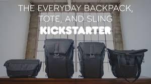 Kickstarter Peak Design Bag The Everyday Backpack Tote And Sling Official Kickstarter Video