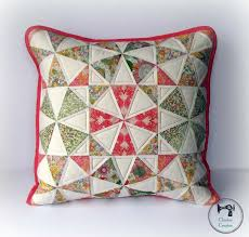 Pillow Patterns Awesome Spring Kaleidoscope Pillow Pattern Tutorial Sew Mama Sew