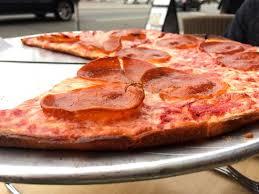 pepperoni pizza at evo kitchen