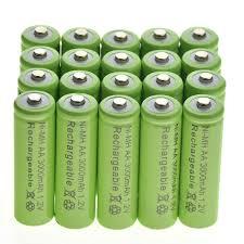 Where To Buy Solar Light Batteries Details About 20 Aa Rechargeable Batteries Nimh 3000mah 1 2v Garden Solar Light Us