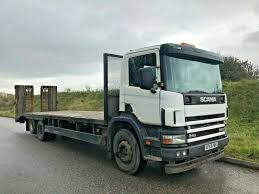 Truck Log Book For Sale Scania 6x2 Beavertail Recovery Low Loader