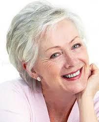 cute white pixie haircut for women over 50