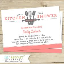 Kitchen Themed Bridal Shower 15 Kitchen Themed Bridal Shower Invitations Best Invitations