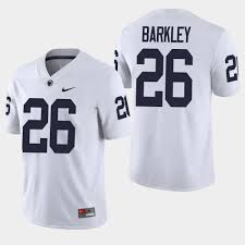 Limited Men's - Giants Barkley White Color Jersey Saquon Rush