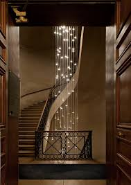 unique home lighting. not sure which is more spectacularthe stairway or the lighting cascading lights within a winding staircase unique home n