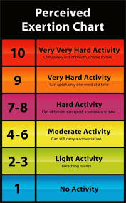 Rate Of Perceived Exertion Lessons Tes Teach