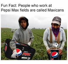 Fun Fact People Who Work at Pepsi Max Fields Are Called Maxicans Pepsi MAK  | Work Meme on ME.ME