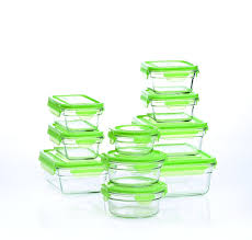 Airtight Storage Cabinet Kitchen Glass Food Storage Containers With Lids Microwave Oven