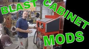 harbor freight blast cabinet upgrades