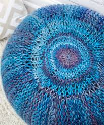 Knitted Pouf Pattern Cool Ideas