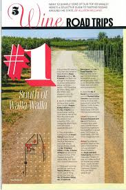 the 1 best wine road trip is visiting the wineries south walla walla and the 2 best wine road trip is visiting the wineries in downtown walla walla