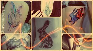 значение тату заяц смысл история фото эскизы рисунков
