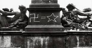 Флаг Украины развернули в день Бархатной революции в Праге - Цензор.НЕТ 9526