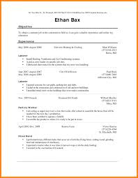 Sample Resume Factory Worker Job Description Maintenance Supervisor