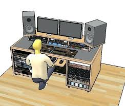 small studio desk ideas recording studio desk plans free art studio desk ideas woodworking recording desk plans pdf recording desk plans a visual