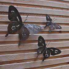 metal erfly garden wall art set three cab bac nz uk australia adelaide perth melbourne