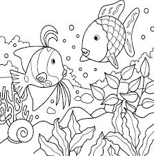 Ocean Life Coloring Pages Under The Ocean Coloring Pages Realistic