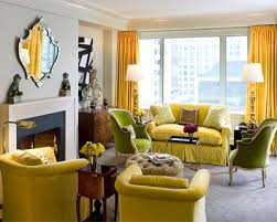 yellow living room furniture. modren living living room yellow fabric cover sofa curtain arm  chair white fireplace mantle with furniture
