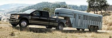 2019 F 250 Towing Capacity Chart How Much Can The 2019 Ford Super Duty Lineup Tow And Haul
