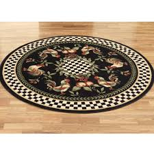 Round Rooster Kitchen Rugs Kitchen Rugs Mohawk Kitchen Rugs Bacova Eastly Midnight 22inch X