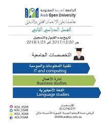 رسوم الجامعة العربية المفتوحة سلطنة عمان