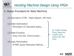 State Machine Diagram For Coffee Vending Machine Impressive Lecture 48 Coffee Vending Machine Using FPGA Ppt Video Online Download