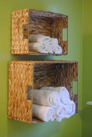 popular cool bathroom color: apartments cool bathroom design ideas with wall mounted wicker