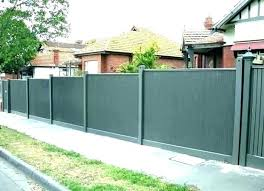 corrugated metal fencing fence panels designs cost vs wood privacy n for corrugated metal fence panels